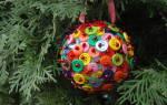 Сделать елочный шар. Новогодние шары своими руками: инструкции и мастер классы с фото