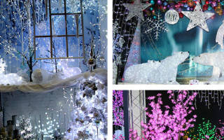 Оформление школы к Новому году. Креативные фотоидеи. Как превратить зал в новогоднюю сказку