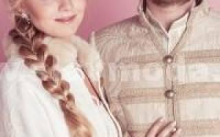 Русский национальный свадебный костюм. Русский свадебный наряд