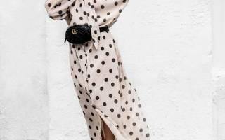 Как носить платье в горошек. С чем носить платье в горошек? (фото). Выбор обуви в зависимости от фасона платья