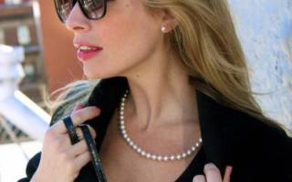 Можно ли носить жемчуг незамужним девушкам. Как носить жемчуг в повседневной жизни? Полезные советы