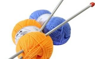Вязание с нуля спицами пошаговая. Основы вязания спицами для начинающих