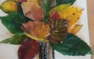 Легкая поделка из природного материала осень. Идеи осенних поделок из природных материалов