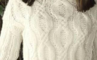 Схемы с описанием для начинающих: как связать свитер спицами? Простая схема вязания спицами свитера: удобно и бесплатно