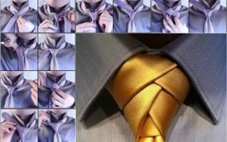 Как завязать галстук элдридж: сложный узел в простой инструкции. Как завязать галстук Элдридж узлом: подробная схема Как же завязать «Элдридж»