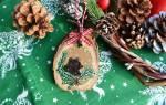 Сделать новогоднюю игрушку на елку плоскую. Простые идеи интересных вариантов. Елочные игрушки из атласных лент своими руками