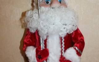 Игрушка Дед Мороз своими руками из подручных материалов – лучшие мастер-классы с пошаговыми фото. Как сшить костюм Деда Мороза, видео. Поделка Дед Мороз: пошаговые мастер-классы с фото