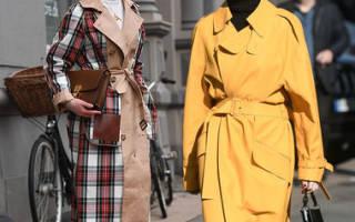 С чем носить темно — синий тренч или плащ? Подборка современных образов и советы. Модный женский тренчкот — лучшая вещь для межсезонья
