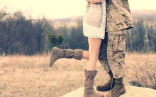 Кого дождалась девушка из армии. Как дождаться парня из армии: советы психолога для девушек. Письмо в армию