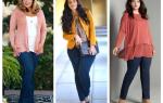 Весна одежда для полных дам. Идеальный гардероб для полных дам