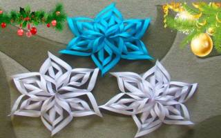 Как сделать новогоднюю снежинку из бумаги схемы. Объемные снежинки из бумаги — легкие пошаговые схемы. Поэтапное описание изготовления снежинки из бумаги своими руками