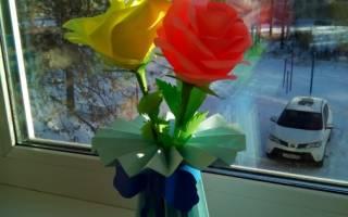 Цветы из цветной бумаги пошагово. Цветы своими руками. Тысяча и один способ изготовления