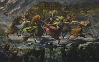 Вальпургиева ночь история происхождения. Любовь и ведьмы. Отрывок, характеризующий Вальпургиева ночь