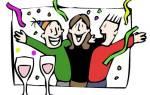 Как провести новогодние праздники дома с семьей. Корпоратив на Новый год. Полет к созвездиям гороскопов