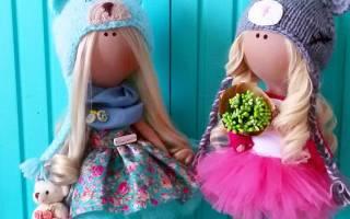 Мк куклы текстильные. Как самой сшить куклу своими руками: выкройки, мастер класс. Как сшить красивую куклу из ткани: инструкция для начинающих