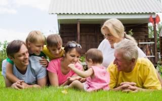Семейный отдых на природе. На природу – всей семьей