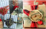 Как красиво упаковать новогодние подарки своими руками. Идеи декора подарков к Новому году. Оригинальная упаковка подарков своими руками