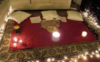 Как устроить романтический ужин мужу. Как устроить романтический вечер дома: идеи для влюбленных