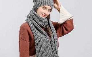 Вязание спицами шапки для девочки 8 10. Женская шапка берет спицами с описанием и схемами. Узор: Английская резинка