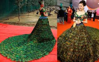 Необычные наряды. Самые странные платья в мире. Платье-иллюзия — новинка мировой моды