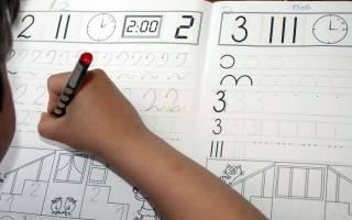 Детские прописи цифры распечатать. Как научить ребенка-дошкольника правильно писать буквы и цифры: прописи, советы и хитрости обучения