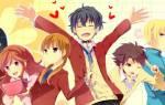 Лучшие романтические аниме сериалы. Смотреть аниме про любовь
