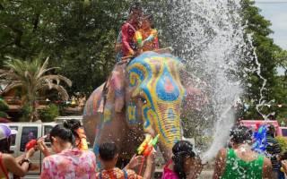 Когда в таиланде новый год. Новый год в тайланде. Водный фестиваль – веселые традиции тайского Нового года