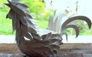 Изготовление символа нового года петуха. Петушок из подручного материала своими руками. Пошаговая инструкция с фото. Петух из пластилина