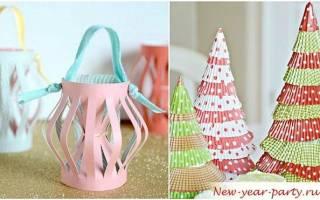 Идеи поделок из бумаги к новому году. Что можно сделать на Новый год своими руками из бумаги: фото