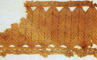 История техники вязания крючком. История возникновения вязания