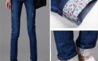 Как удлинить джинсы. Как продлить жизнь детской одежды — удлиняем детский сарафан