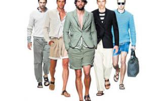 Белые сандалии мужские с чем носить. С чем носить мужские сандалии