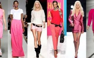 Сочетание синего и розового цвета в одежде. С каким цветом комбинировать розовый — изучаем цветовые сочетания