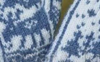 Простая схема вязания варежек спицами. Утепляемся к зиме: вязание варежек на спицах, описание, схемы