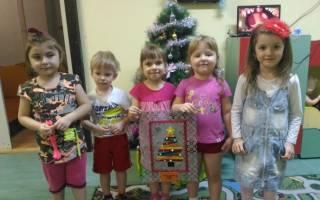 Коллективная работа с малышами на новый год. Коллективная работа «Новогодняя елочка. Пошаговое выполнение работы