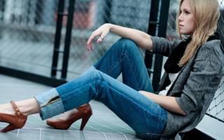 С чем носить джинсы бойфренды осенью. Джинсы бойфренды — кому они подходят и с чем их можно носить