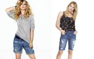 С чем джинсовым носить джинсовые шорты летом? Советы с чем носить джинсовые шорты. Женские фото, особенности создания наряда с ними, выбор аксессуаров