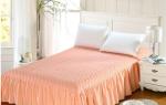 Стеганые ткани для покрывала на кровать. Плюсы покрывал из шелка. Из какой ткани лучше сшить покрывало на кровать