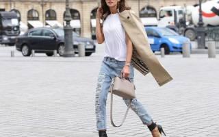 Брюки бойфренды женские с чем носить. С чем носить джинсы бойфренды? Весной, летом, осенью, зимой