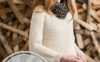 Связать джемпер на спицах. Вяжем джемпер, свитер, пуловер. МК с описанием, схемы и видео
