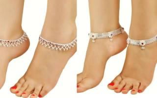 На какой ноге правильно носить браслет. Как правильно выбрать браслет на ногу и на какой ноге его нужно носить? На какой ноге носить браслет