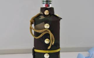 Оформление коньячных бутылок для мужчин своими руками. Оформление бутылки коньяка для мужчины – оригинальная подача традиционного подарка. Как красиво украсить бутылку коньяка для мужчины фотографией идеи, дизайн, фото