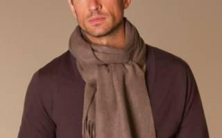 Мужские шарфы и кашне — отличие, как носить и красиво завязывать. Мужские кашне