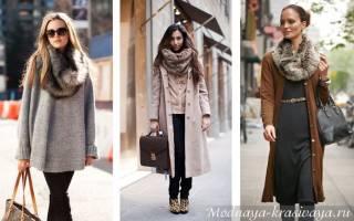 Как одевать трикотажный снуд. С чем носить снуд или шарф-трубу? Идеи для создания цельного образа