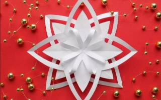 Самый простой способ вырезать снежинку. Как сделать из бумаги снежинку: идеи. Как сложить бумагу для вырезания снежинки из бумаги