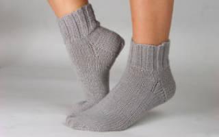 Детские носки на спицах — схемы и мк пошагово. Носки спицами: простые и красивые схемы с описанием