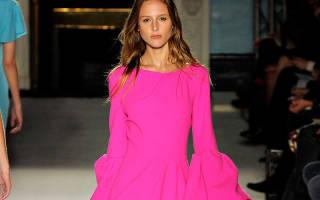 Темно розовый цвет платьев. С чем носить розовое платье и розовые вещи? Розовый цвет в одежде
