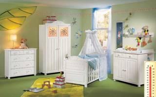Рождение ребенка как ухаживать. Что делать с опрелостями? Температурный режим и влажность воздуха