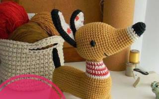 Символ собака вязаная крючком схема. Вязаная собачка амигуруми крючком (мастер-класс). Собаки из бутылок