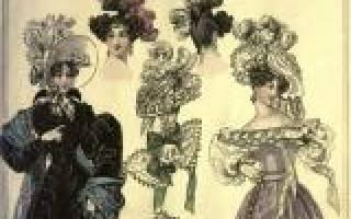 История моды в одежде. Женская мода и её история развития